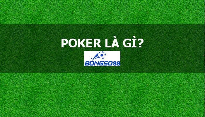 Cú poker là gì