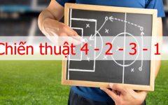 Chiến thuật 4-2-3-1 được đội bóng vô địch ứng dụng ra sao?