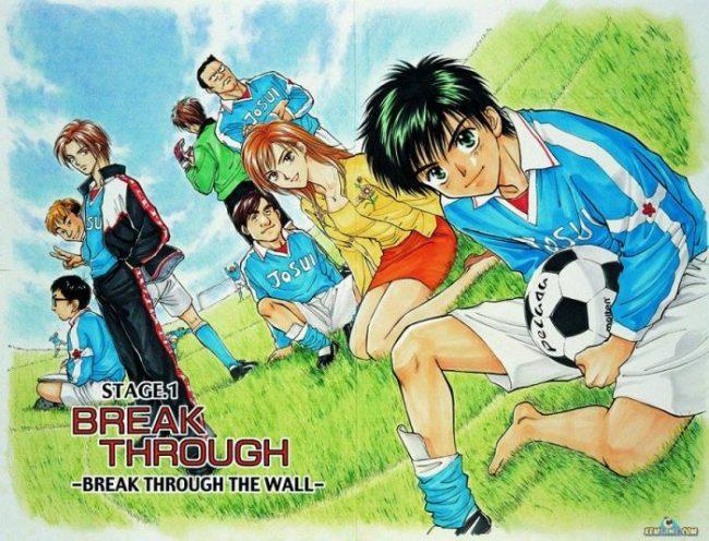 truyện tranh bóng đá hay nhất