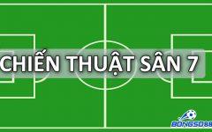 Top 3 chiến thuật bóng đá sân 7 người với sơ đồ mạnh nhất